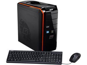 Acer Desktop PC Predator AG3620-UR318 (DT.SJPAA.005) Intel Core i7 3770 (3.40GHz) 12GB DDR3 2TB HDD+128GB SSD HDD Windows ...