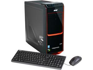 Acer Desktop PC Predator AG3-605-UR20 (DT.SPXAA.001) Intel Core i7 4770 (3.40GHz) 32GB DDR3 3TB HDD + 24GB SSD HDD Windows ...