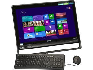 """Acer All-in-One PC Aspire AZ3-605-UR20 (DQ.SQGAA.001) Pentium 2127U (1.90GHz) 6GB DDR3 1TB HDD 23"""" Windows 8 64-Bit"""