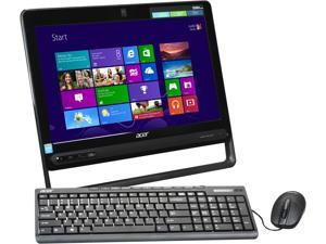 "Acer All-in-One PC Aspire AZC-605-UR23 (DQ.SQSAA.001) Celeron 1017U (1.60GHz) 4GB DDR3 500GB HDD 19.5"" Windows 8"