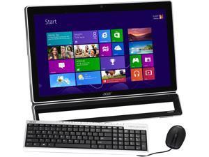 """Acer All-in-One PC Aspire AZS600-UR36 (DQ.SLUAA.004) Pentium G2020 (2.90 GHz) 4 GB DDR3 500 GB HDD 23"""" Windows 8"""
