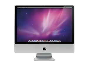 "Apple iMac MA878LLA Intel Core 2 Duo T7700 X2 2.4GHz 1GB 320GB 24"",Silver (Refurbished)"