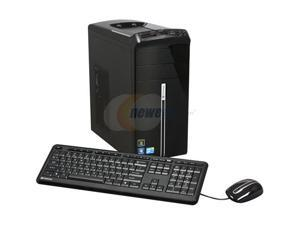 Gateway Desktop PC DX Series DX4822-03 Core 2 Quad Q8400 (2.66 GHz) 8 GB DDR2 1 TB HDD Windows 7 Home Premium 64-bit