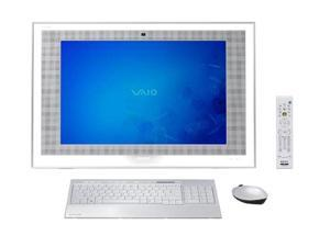 "Sony VAIO VGC-LT19U Desktop PC Core 2 Duo 2GB DDR2 500GB HDD 22"" Windows Vista Ultimate"