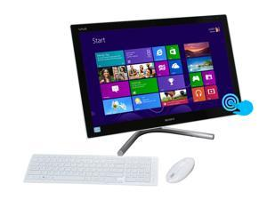 "Sony VAIO SVL24125CXW Intel Core i5 8GB DDR3 2TB HDD Capacity 24"" Touchscreen Windows 8 64-bit"