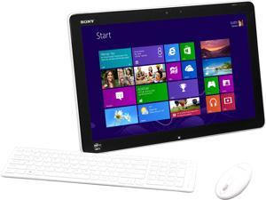 "Sony VAIO J Series Intel Core i5 4GB DDR3 750GB HDD Capacity 20"" Touchscreen All-in-One PC Windows 8 64-Bit SVJ20235CXW"
