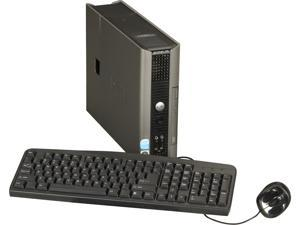 DELL OptiPlex 745 DTDEOP745-USFF1 Desktop PC Pentium D 2.8GHz 2GB 80GB HDD Capacity Windows 7 Home Premium 32-Bit