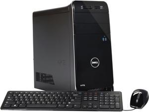 DELL Desktop PC XPS 8700 (X8700-626BLK) Intel Core i5 4440 (3.10 GHz) 8 GB DDR3 1 TB HDD Windows 8