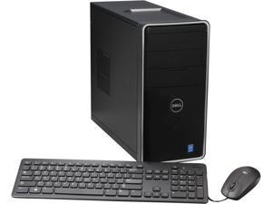 DELL Desktop PC Inspiron i3847-2770BK Pentium G3240 (3.1 GHz) 4 GB DDR3 1 TB HDD Intel HD Graphics Windows 7 Home Premium 64-Bit