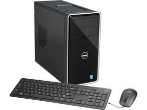 DELL Desktop PC i3847-4923BK Intel Core i3 4150 (3.50 GHz) 8 GB DDR3 1 TB HDD Intel HD Graphics 4400 Windows 7 Professional 64-Bit