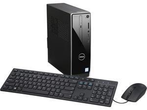 DELL Desktop Computer Inspiron 3250 i3250-30BLK Intel Core i3 6th Gen 6100 (3.70 GHz) 4 GB DDR3L 1 TB HDD Intel HD Graphics 530 Windows 10 Home 64-Bit English