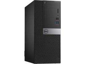 Dell Optiplex 7040 Intel Core i5-6600 X4 3.3GHz 8GB 500GB DVD+/-RW ,Black (Certified Refurbished)