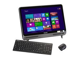 "Toshiba All-in-One PC LX815-D1310 (PQQ20U-002003) Pentium B980 (2.40GHz) 4GB DDR3 1TB HDD 21.5"" Windows 8"