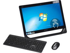 "ASUS B Grade All-in-One PC Eee Top ET2010PNT-B027E-B Intel Atom D510 (1.66 GHz) 2 GB DDR2 320 GB HDD 20"" Touchscreen Windows 7 Home Premium 64-bit"