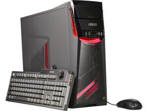 ASUS G11DF-DBR5-GTX1060 ATX Gaming Desktop Computer, AMD RYZEN 5 1400 3.2GHz Processor (8M Cache, Turbo up to 3.4GHz), NVIDIA GeForce GTX 1060 6GB Graphics Card, 8GB 2400MHz DDR4 RAM, 256GB M.2 SSD +