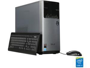 ASUS Desktop PC M32AD-US005T Intel Core i7 4th Gen 4790 (3.6 GHz) 12 GB DDR3 1 TB HDD AMD Radeon R7 240 Windows 10 Home