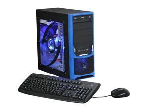 iBUYPOWER Gamer Power 955 Desktop PC Core 2 Quad 4GB DDR2 500GB HDD Windows Vista Home Premium 64-bit