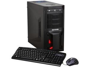 iBUYPOWER Gamer Extreme 961SD3 Desktop PC Intel Core i7 6GB DDR3 64GB SSD + 1TB HDD Windows 7 Home Premium 64-bit