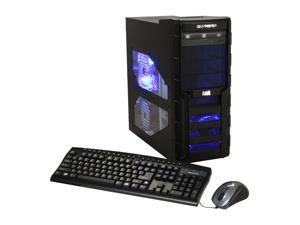 iBUYPOWER Gamer Extreme 900i Desktop PC Intel Core i5 8GB DDR3 1TB HDD Windows 7 Home Premium 64-Bit