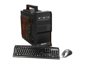 iBUYPOWER Gamer Power LanWarrior NE511FX Desktop PC AMD FX-Series 8GB DDR3 500GB HDD Windows 7 Home Premium 64-Bit