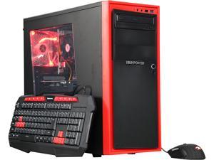 iBUYPOWER Desktop Computer NE640FX AMD FX-Series FX-4300 (3.80 GHz) 4 GB DDR3 1 TB HDD AMD Radeon RX 460