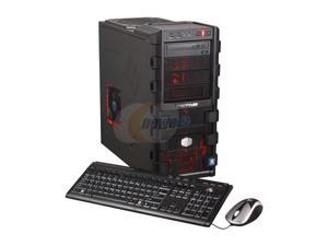 CyberpowerPC Gamer Ultra 2077LQ Desktop PC Phenom II X6 8GB DDR3 1TB HDD Windows 7 Home Premium 64-bit