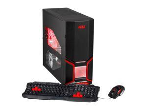 CyberpowerPC Gamer Ultra 2098 (GU2098) Desktop PC AMD FX-Series FX-4300 (3.80GHz) 8GB DDR3 500GB HDD Capacity Windows 7 Home ...