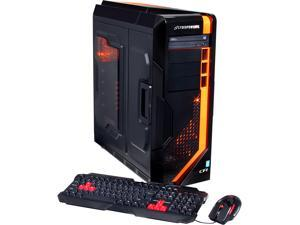CyberpowerPC Desktop PC Zeus EVO Thunder ZET250LQ Intel Core i5 4670K (3.40 GHz) 16 GB DDR3 2 TB HDD AMD Radeon R7 260X Windows 8.1 64-Bit