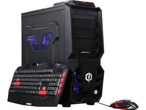 CyberpowerPC Desktop Computer Gamer Xtreme S103T Intel Core i5 7th Gen 7600K (3.8 GHz) 8 GB DDR4 1 TB HDD AMD Radeon R7 250 2 GB Windows 10 Home 64-Bit