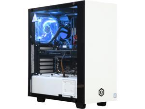 CyberpowerPC Desktop Computer Sealth Reaper S10TLQ Intel Core i7 7th Gen 7700K (4.2 GHz) 16 GB DDR4 2 TB HDD 256 GB SSD NVIDIA GeForce GTX 1070 Windows 10 Home 64-Bit