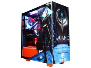 CyberpowerPC Desktop Computer Gamer Master Quake Champion NYX 300 Ryzen 7 1800X (3.60 GHz) 16 GB DDR4 2 TB HDD 240 GB SSD AMD Radeon RX Vega 64 Windows 10 Home 64-Bit