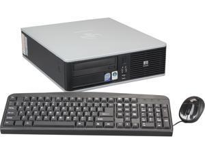 HP Compaq Desktop PC DC5800 Core 2 Duo 2.40GHz 2GB 80GB HDD Windows 7 Home Premium 32-Bit