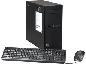 HP Desktop PC 110-210 (F3D15AA#ABA) A4-Series APU A4-5000 (1.5GHz) 4GB DDR3 500GB HDD Windows 8.1 64-Bit