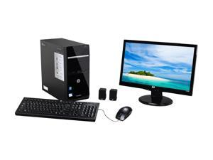 "HP Pavilion p6-2112b (H2N22AA#ABA) Desktop PC Pentium 4GB DDR3 1TB HDD 20"" Windows 7 Home Premium 64-Bit"