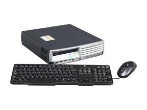 HP Compaq DC7700 Desktop PC Celeron D 1GB DDR2 80GB HDD Windows XP Professional