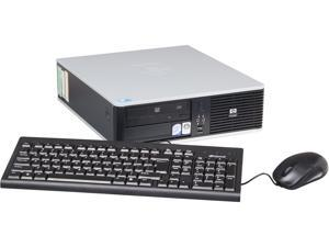 "HP DC7900 Desktop PC Core 2 Duo 4GB 500GB HDD 14"" Windows 7 Professional"