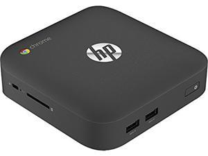 HP Desktop PC Chromebox Celeron 2955U (1.4 GHz) 4 GB DDR3 16 GB SSD Intel HD Graphics Google Chrome OS