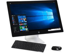 "HP All-in-One Computer 27-n220 Intel Core i3 6100T (3.20 GHz) 8 GB DDR3 1 TB HDD 27"" Windows 10 Home"