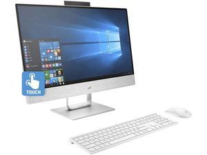 "HP All-in-One Computer Pavilion 24-x030 Intel Core i7 7th Gen 7700T (2.90 GHz) 8 GB DDR4 + 16 GB Optane Memory 1 TB HDD 23.8"" Touchscreen Windows 10 Home 64-Bit"