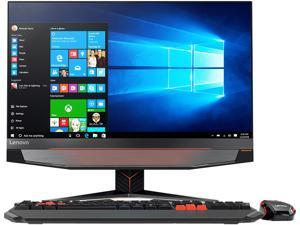 "Lenovo All-in-One Computer IdeaCentre Y910-27ISH Intel Core i7 6th Gen 6700 (3.4 GHz) 16 GB DDR4 2 TB HDD 256 GB SSD 27"" Windows 10 Home"
