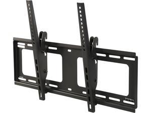 "Rosewill RHTB-17004 37"" to 90"" Anti-thief Heavy-duty Tilting Curved & Flat Panel LCD LED TV Wall Mount  - Max. Load 176 lbs., VESA Max 600x400mm, Black, Compatible with Samsung, Vizio, Sony, Panasonic"
