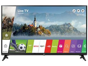 LG 32LJ550B 32-Inch HD 720p Smart LED TV (2017)