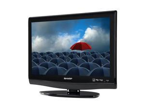 "SHARP AQUOS LC-19DV28UT 19"" Black 720p LCD HDTV with Built-In DVD Player"