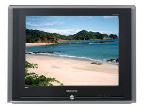 "SAMSUNG TX-R2435 24"" Aspect Ratio 4:3 Silver DynaFlat Stereo TV w/ DVD Component Input"