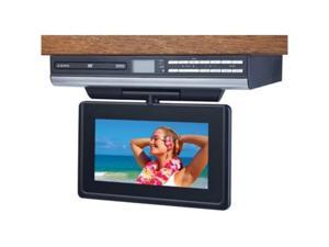 "AUDIOVOX VE927 9"" LCD Drop Down TV with Built-In DVD"