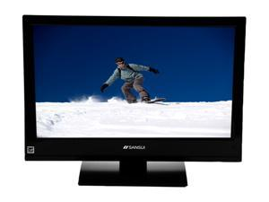 "Sansui SLEDVD226 22"" Class (21.5"" Viewable) Black LED-Backlit LCD TV with Integrated DVD Player"