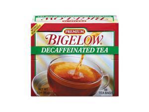 Bigelow 00356 Single Flavor Tea, Decaffeinated Black, 48 Bags/Box
