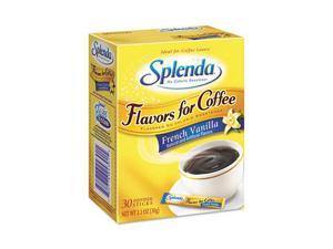 Splenda 243010 French Vanilla, Stick Packets, 30/Carton