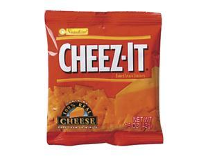 Kellogg's                                Cheez-It Crackers, 1.5oz Single-Serving Snack Pack, 8 Packs/Box