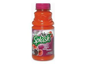 Campbell's V-8 Splash, Berry Blend, 16 oz Bottle, 12/Box
